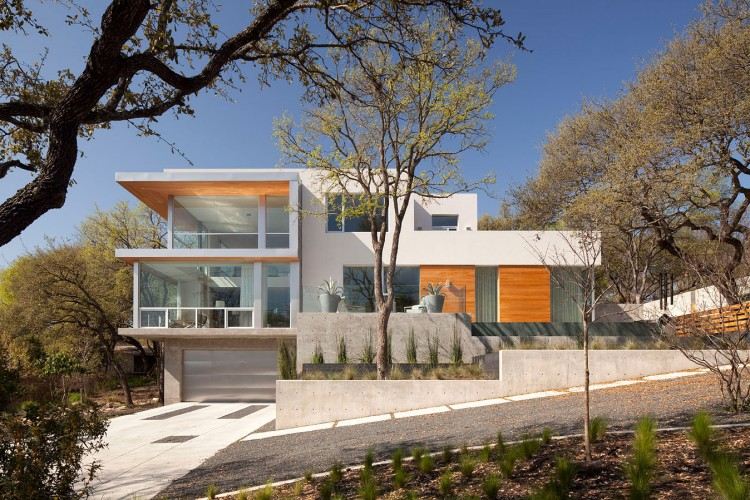 Droomhuis La House : Austin city view residence by dick clark architecture