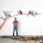 Branch Bookshelf by Olivier Dollé (1)