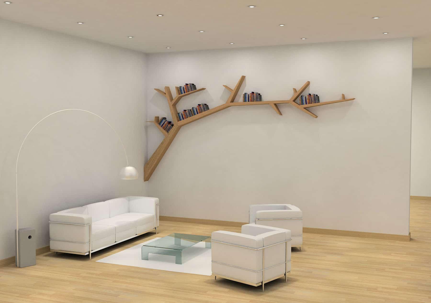 Branch Bookshelf by Olivier Dollé