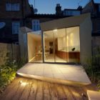 Faceted House, a Modern Rear Extension to an Old London Townhouse