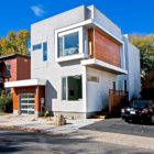 Modern Fold Place House in Ottawa by Linebox Studio