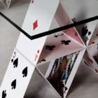 House Of Cards Table by Mauricio Arruda