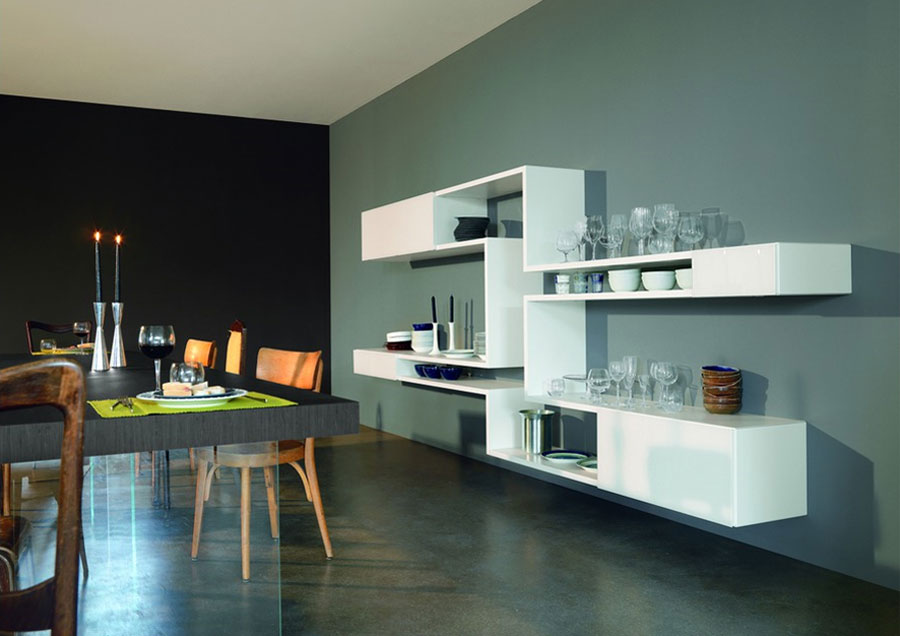 LagoLINEA, a Modular Shelving System by Daniele Lago