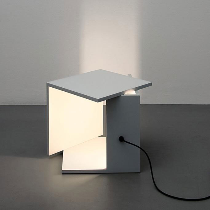 Lichtkiste table lamp by clemens tissi mozeypictures Gallery