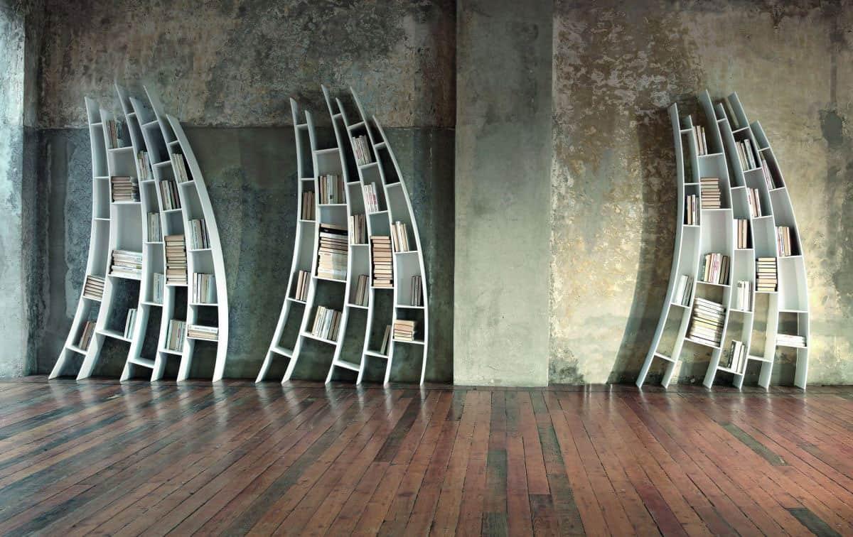 Primo Quarto: Sculptural Bookcase by Giuseppe Vigano