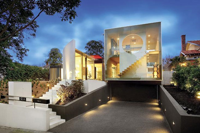 The Orb House in Melbourne, Australia