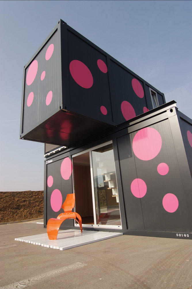 Week End House 2+, a Container House by Jure Kotnik Arhitekt