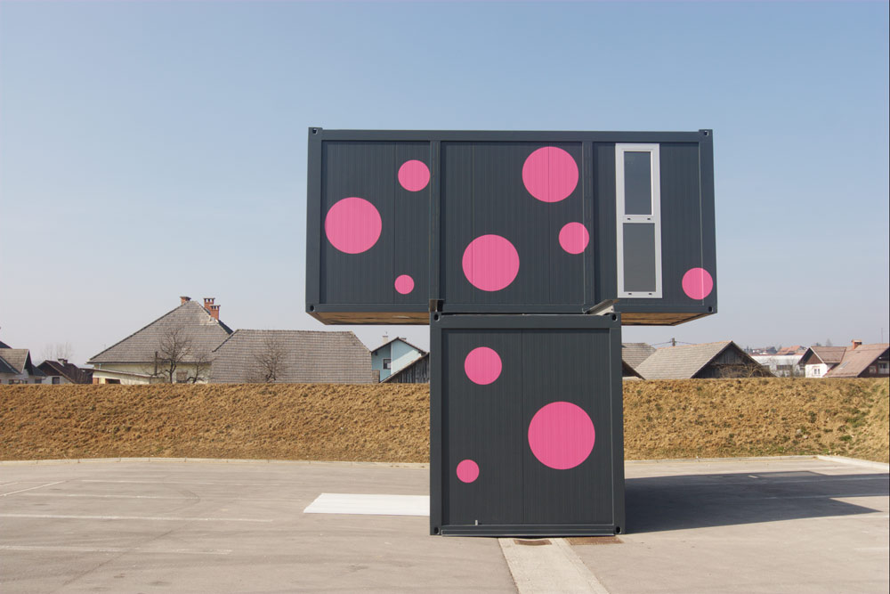 Weekend House 2+, a Container House by Jure Kotnik Arhitekt (8)