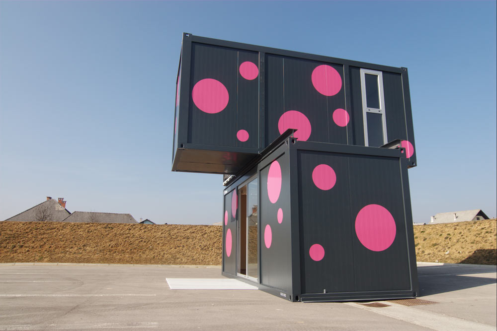 Weekend House 2+, a Container House by Jure Kotnik Arhitekt (6)