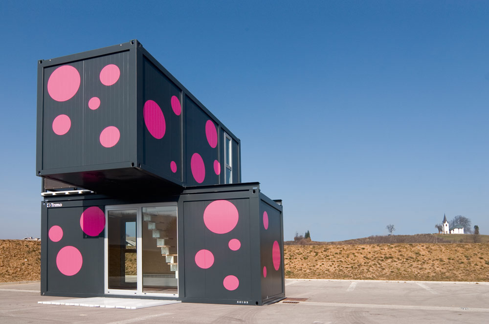 Weekend House 2+, a Container House by Jure Kotnik Arhitekt (7)