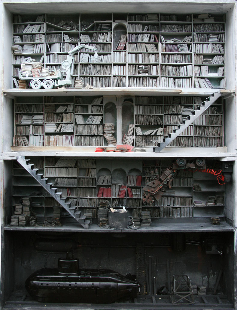 "Amazing Miniature ""Boxes"" by French artist Marc Giai-Miniet"