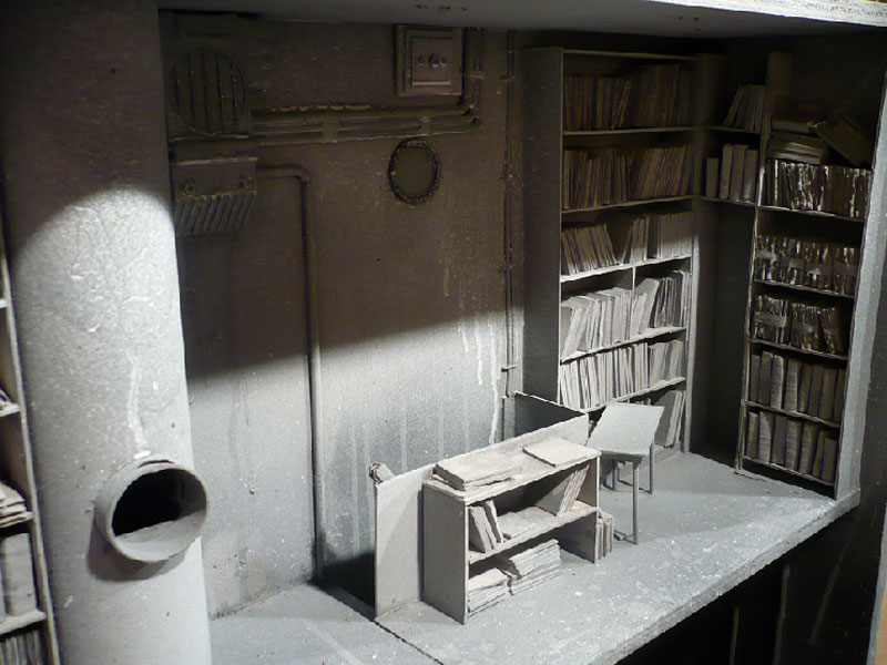 """Amazing Miniature """"Boxes"""" by French artist Marc Giai-Miniet"""