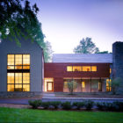 The Burning Tree Residence by David Jameson Architect