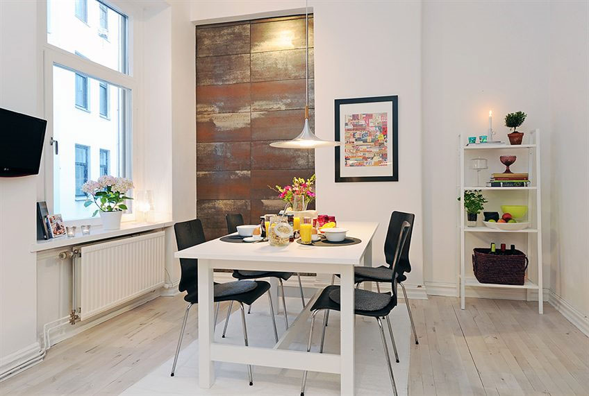 Scandinavian Design Bright And Cozy Small Apartment In Sweden