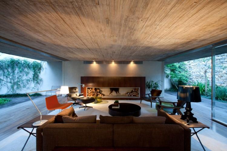 home chimney design.  Chimney House by Studio MK27