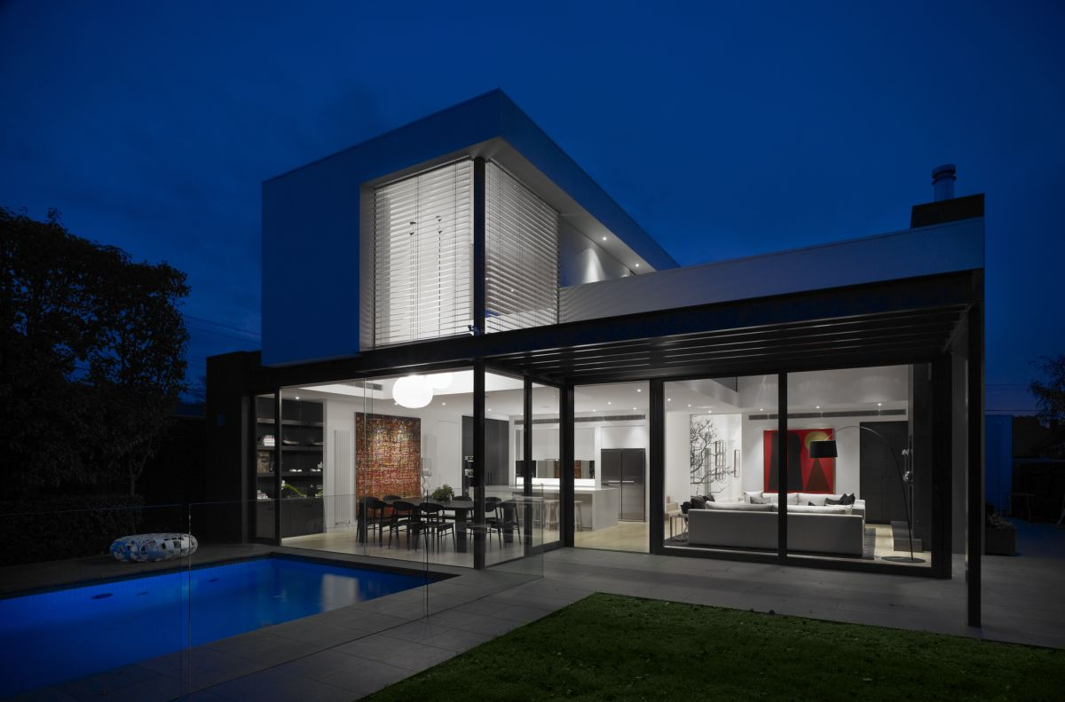 Beautiful contemporary residence in melbourne by mim design for Modern home design photo gallery