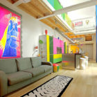 Colorful Loft in Milan by Anna Gili
