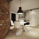 Minimalist Loft U Scheiblera by Moomoo Architects