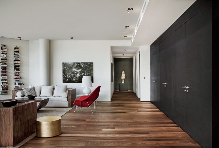 Luxury Penthouse In Downtown Montreal By Rene Desjardins - Downtown-montreal-penthouse-by-rene-desjardins