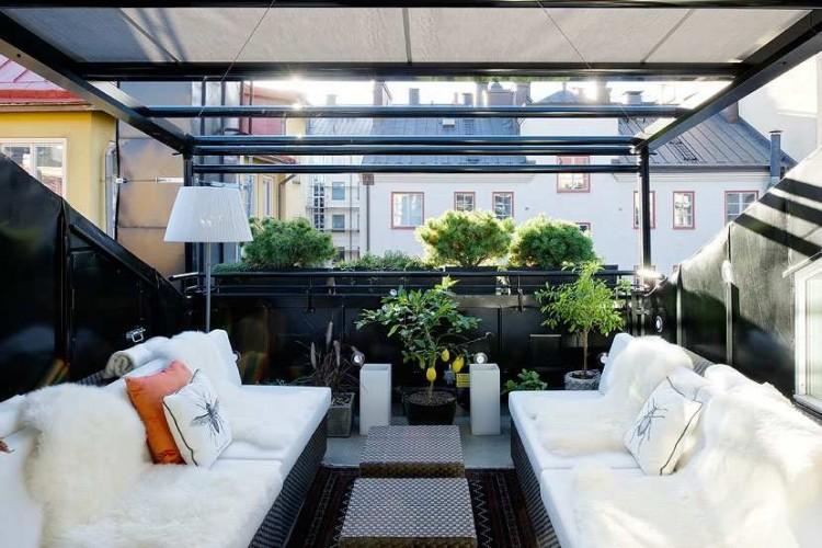 Scandinavian Design Amazing Duplex Penthouse Renovation In Sweden