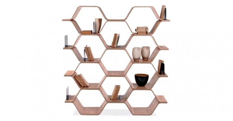 Polygon Shelving Unit By Luka Stepan