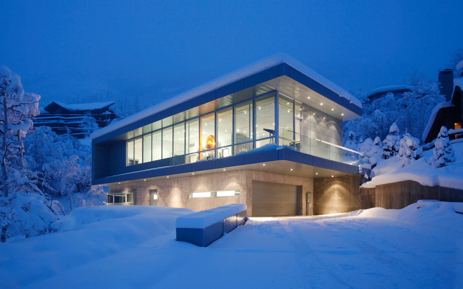 Beautiful Residence in Aspen by Studio B Architects