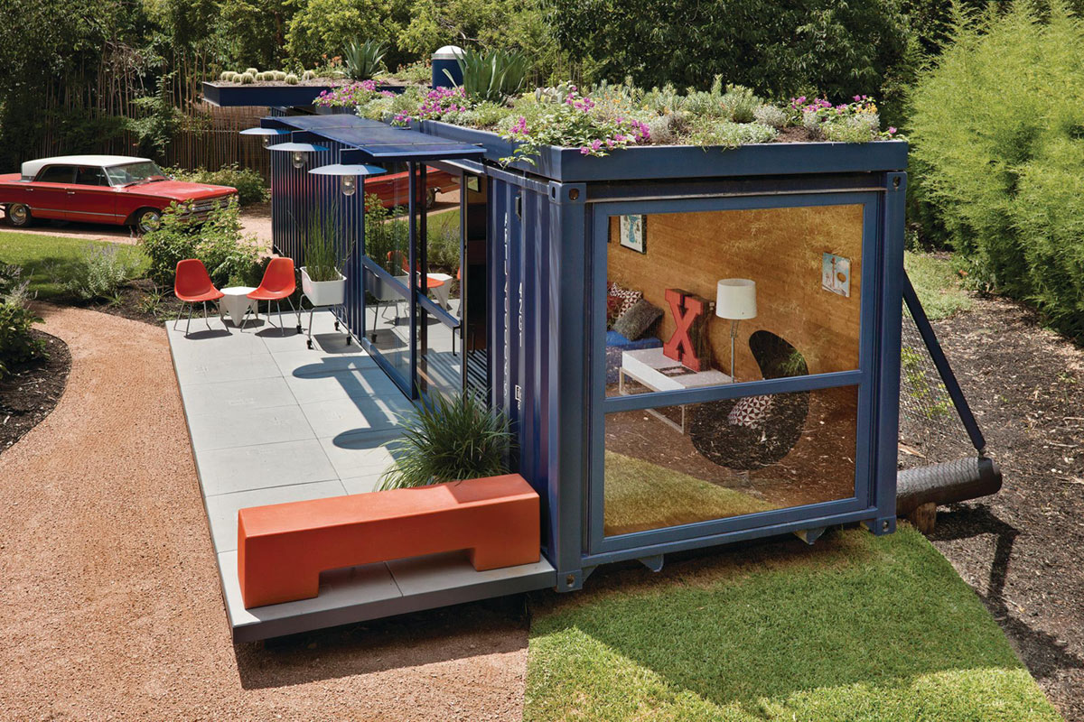 container guest house by jim poteet