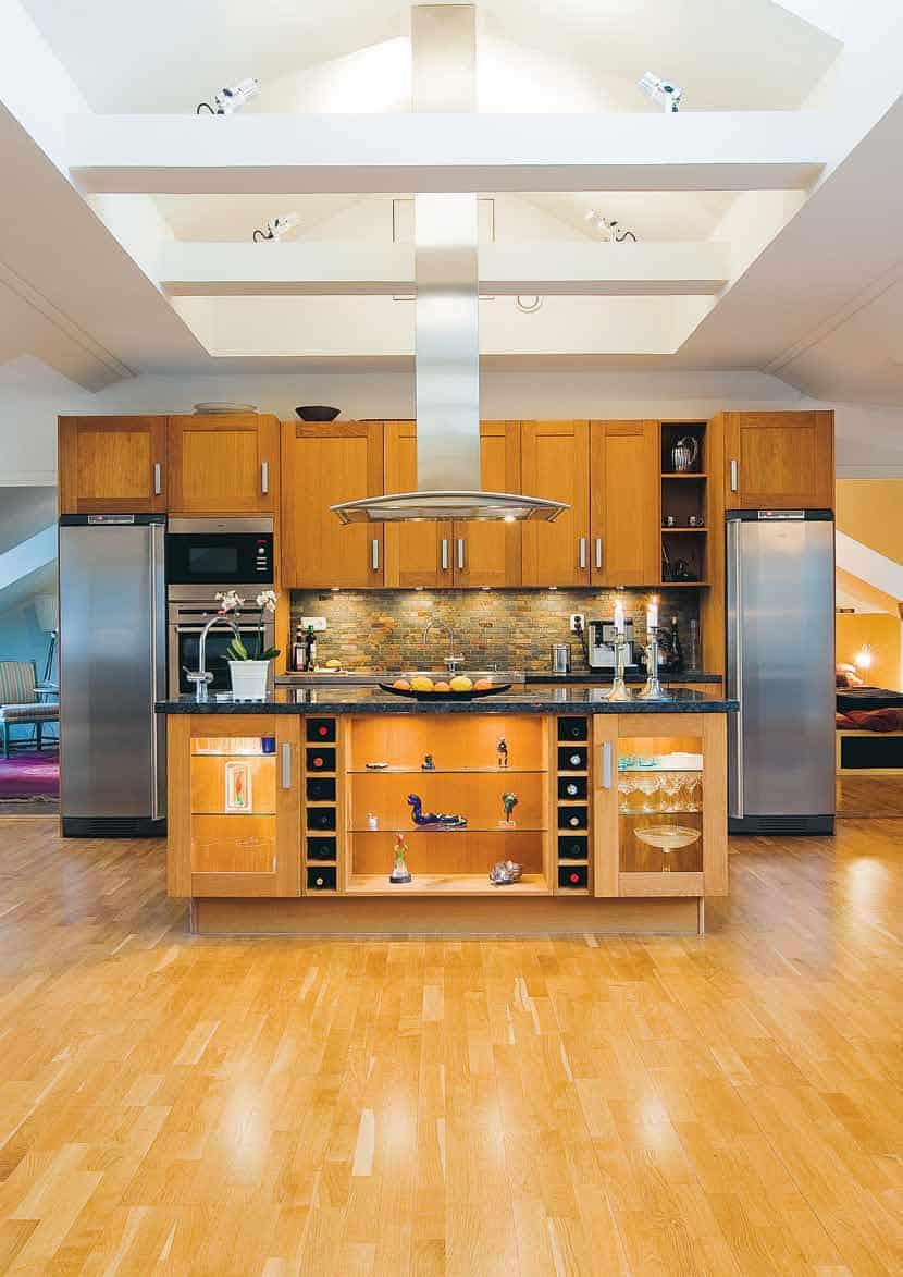 Scandinavian Design: A Modern Loft in the Attic