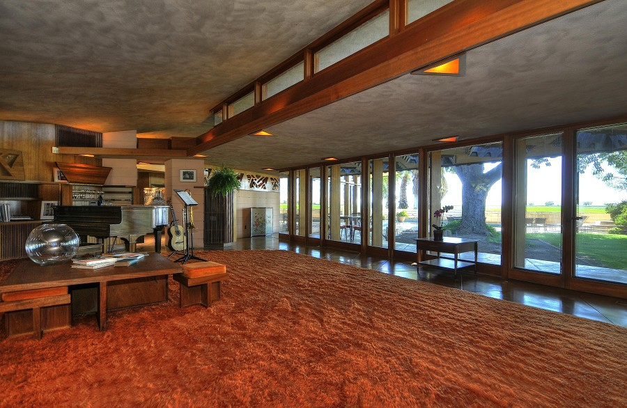 The Randall Fawcett House by Frank Lloyd Wright