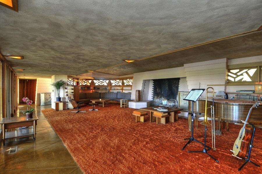 The Randall Fawcett House by Frank Lloyd Wright