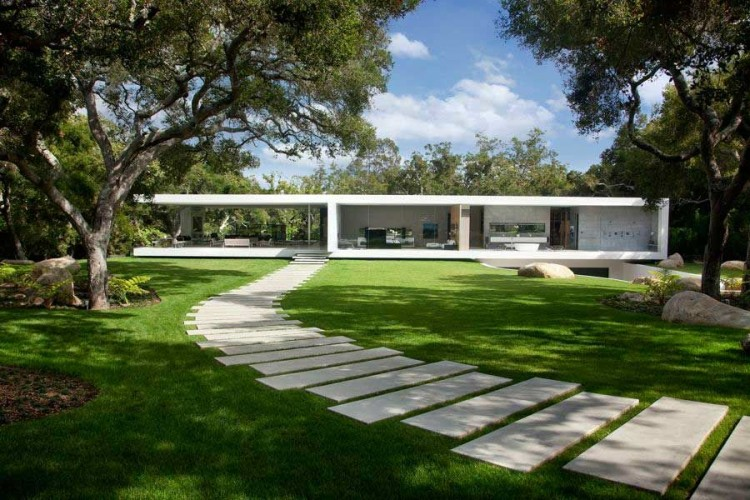Architecture houses glass Iconic Homedsgn The Glass Pavilion An Ultramodern House By Steve Hermann