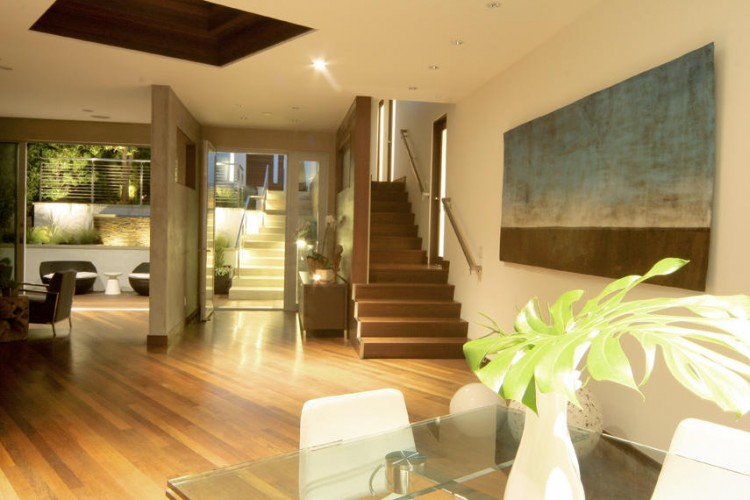 Eco friendly modern house in los angeles for Eco friendly house designs in the philippines