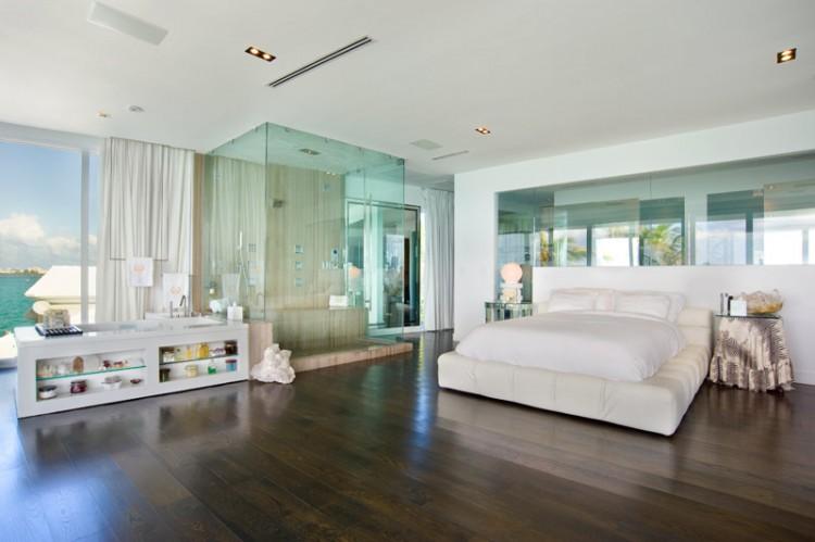 Villa valentina a luxury residence in miami beach - Doccia in camera da letto ...