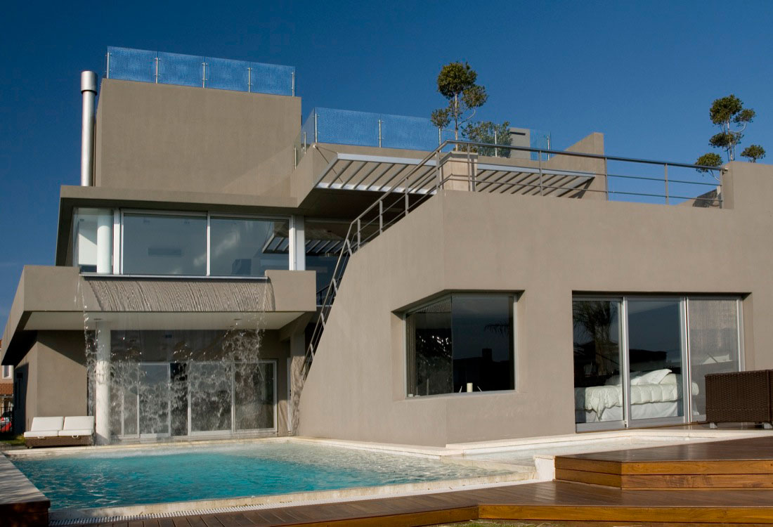 The Waterfall House by Andres Remy Arquitectos
