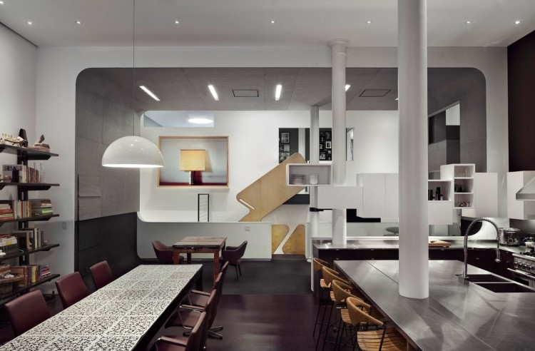 White street loft in new york city for Lofts in new york city