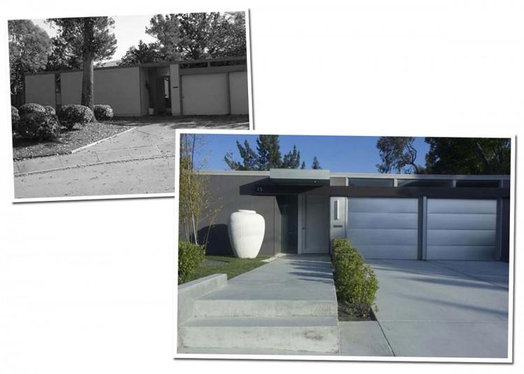 Eichler Home Renovation In San Rafael Inspiration Exterior Home Renovation Minimalist