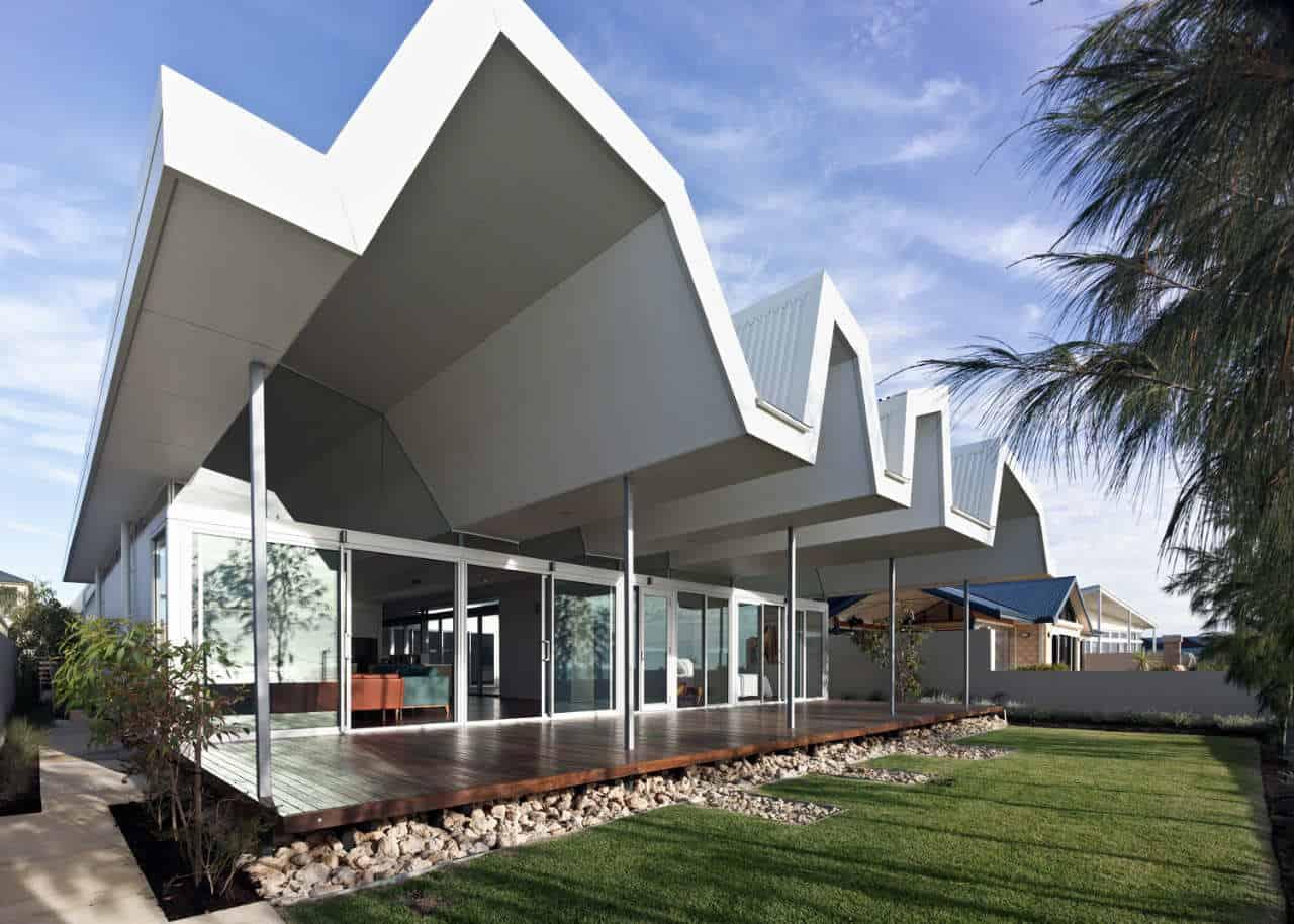 Modern Beach House In Western Australia