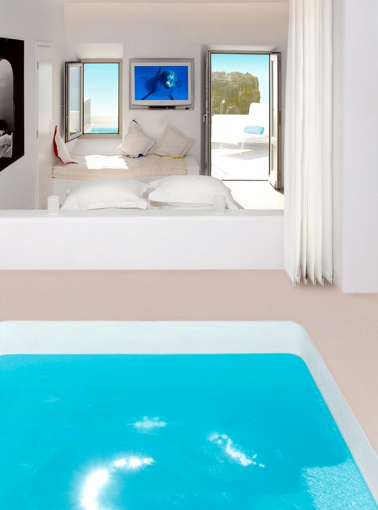 Inside Hotel Room: Grace Santorini Hotel By Divercity And Mplusm Architects