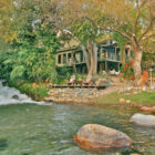 Kaweah Falls House, Three Rivers, California, a River Runs Through it!