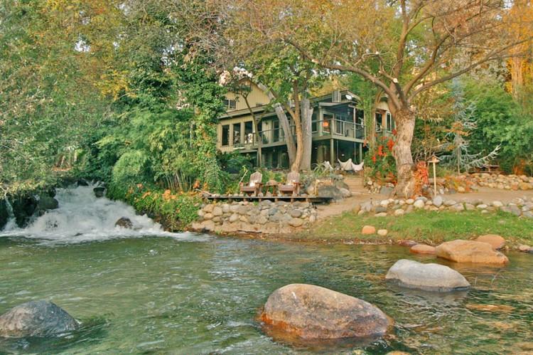 Kaweah Falls House A River Runs Through It