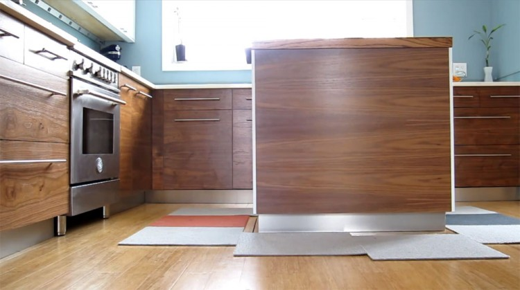 How To Prevent Kitchen Island From Moving