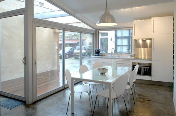 Garage Conversion in Bordeaux by Fabre   de Marien Architects