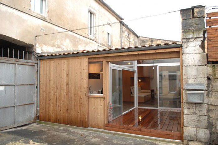 Garage Conversion in Bordeaux by Fabre | de Marien Architects