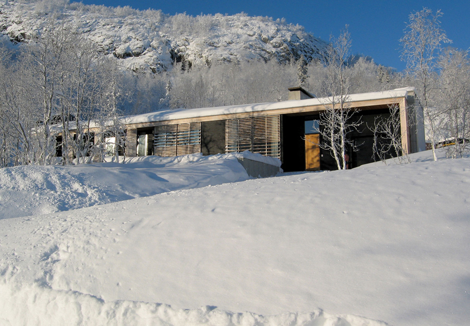 Contemporary Mountain Lodge in Norway