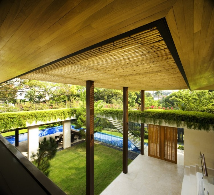 Tangga house by guz architects - La residence exotique fish house singapour ...