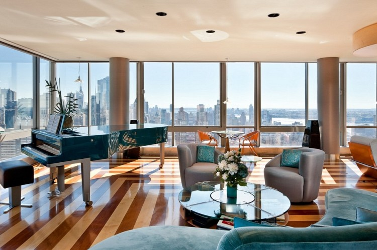 The gartner penthouse for sale in new york city for Central park penthouses for sale