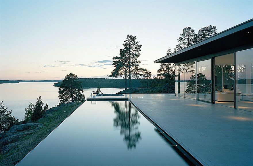 Stunning Lake House by John Robert Nilsson