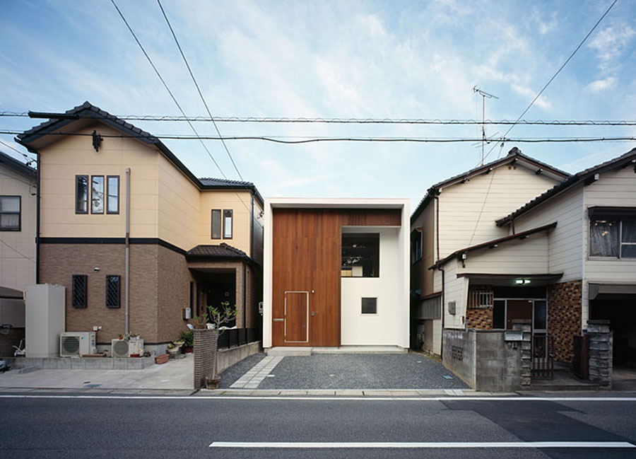 Tiny Home Designs: WBE House, A Small Contemporary Home In Japan By AUAU