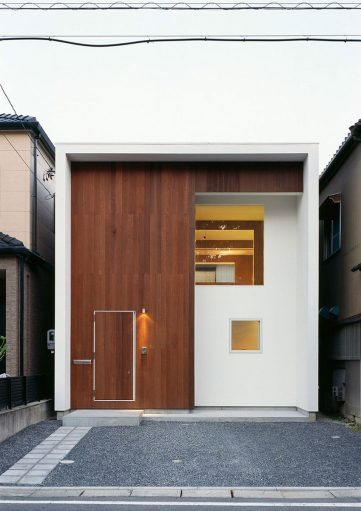 wbe house a small contemporary home in japan by auau - Contemporary Small Houses