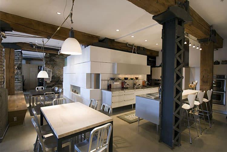 Whitney loft Renovation by Alchemy Architects